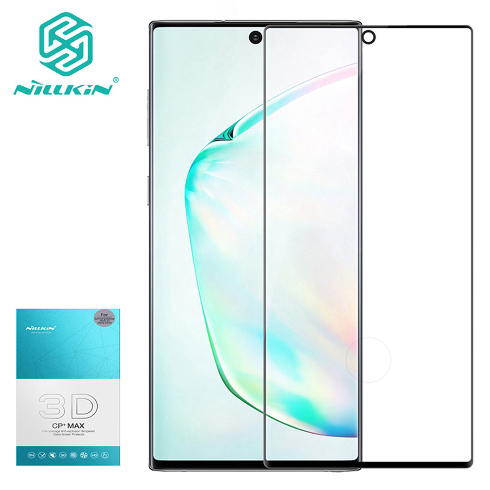For Samsung Galaxy Note 10+ Pro Tempered Glass NILLKIN 3D CP+MAX Screen Protector Film For Note10 Pro Note 10 Plus 5G Glass