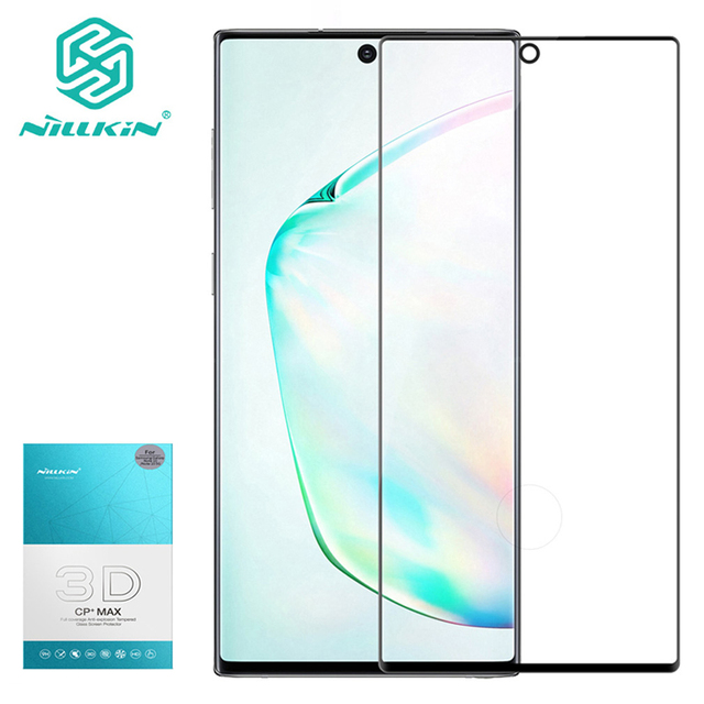 For Samsung Galaxy Note 10+ Pro NILLKIN 3d cp + max 스크린 보호 필름 For note10 pro note 10 plus 5g glass