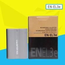 Batterie de caméra, 7.4v, EN-EL3e, pour Nikon D90, D80, D300, D300s, D700, D70, D50, D70s, D100, Rechargeable, 1500mah