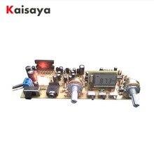 ステレオ FM ラジオボードデジタル周波数変調ラジオボードシリアルポート DIY FM ラジオ TA8122 TA2111 アクセサリー G5 012