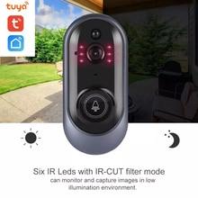 FHD 1080P Wi-Fi Enabled Smart Video Doorbell Tuya Home APP Remote Control WiFi Door Bell Wireless Camera