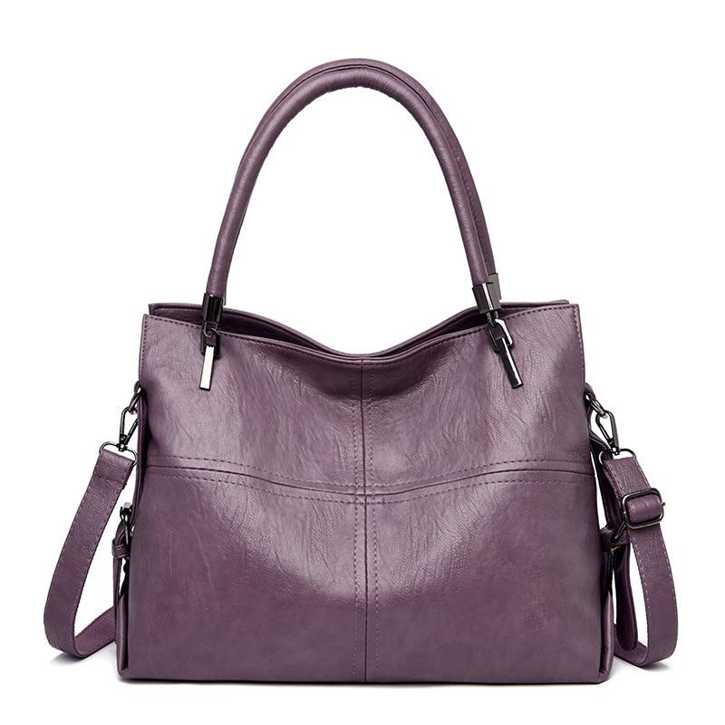 High Quality Fashion Patchwork Women's Genuine Leather Handbags Women Bags Shoulder CrossBody Bags Lady Messenger Bags