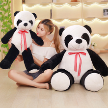 80cm Baby Big Giant Panda Bear Plush Stuffed Animal Doll Animals Toy Pillow Cute Cartoon Kawaii Dolls Kid Gifts Toys for Girls