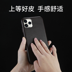 Image 2 - For iphone 11 11 Pro Leather Case 100% Original Duzhi Brand Genuine Cattle Leather Case For iphone 11 pro max leather case