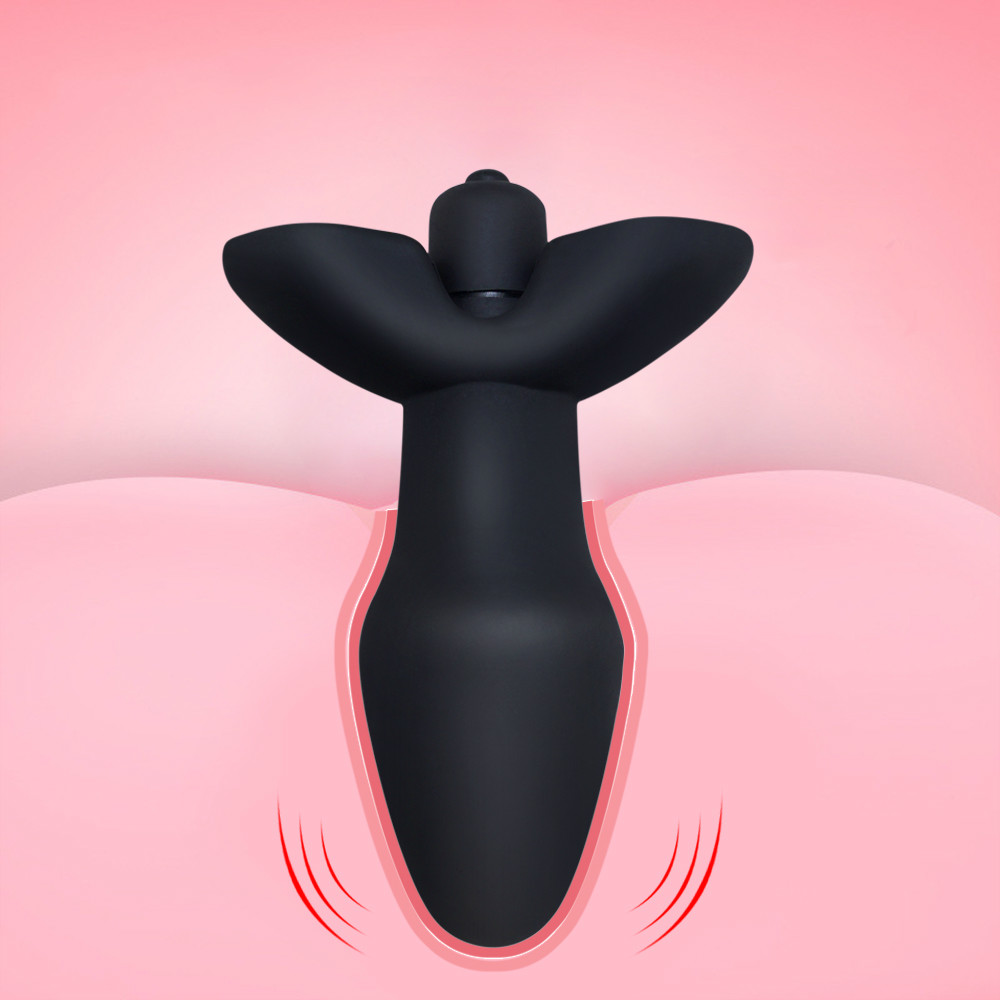 Female masturbation 10Speeds <font><b>Vibrator</b></font> <font><b>Anal</b></font> Plug <font><b>Sex</b></font> <font><b>Toys</b></font> <font><b>for</b></font> <font><b>Men</b></font>/ Women, Black Medical Silicone Butt Plug <font><b>Sex</b></font> Products <font><b>for</b></font> <font><b>Adult</b></font> image
