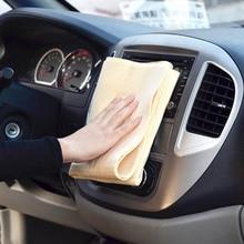 43*32センチメートルpva洗車タオルクリーナー自動ドア窓ケア厚い強力な水吸収のために自動電気ショック療法。アクセサリー