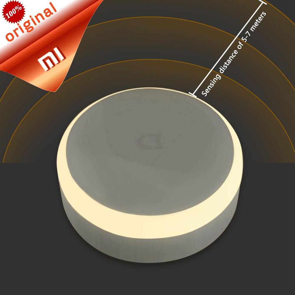 Original Xiaomi Mijia LED Corridor Night Light Sensor Infrared Remote Control Body Motion Sensor Smart Home Induction Night Lamp