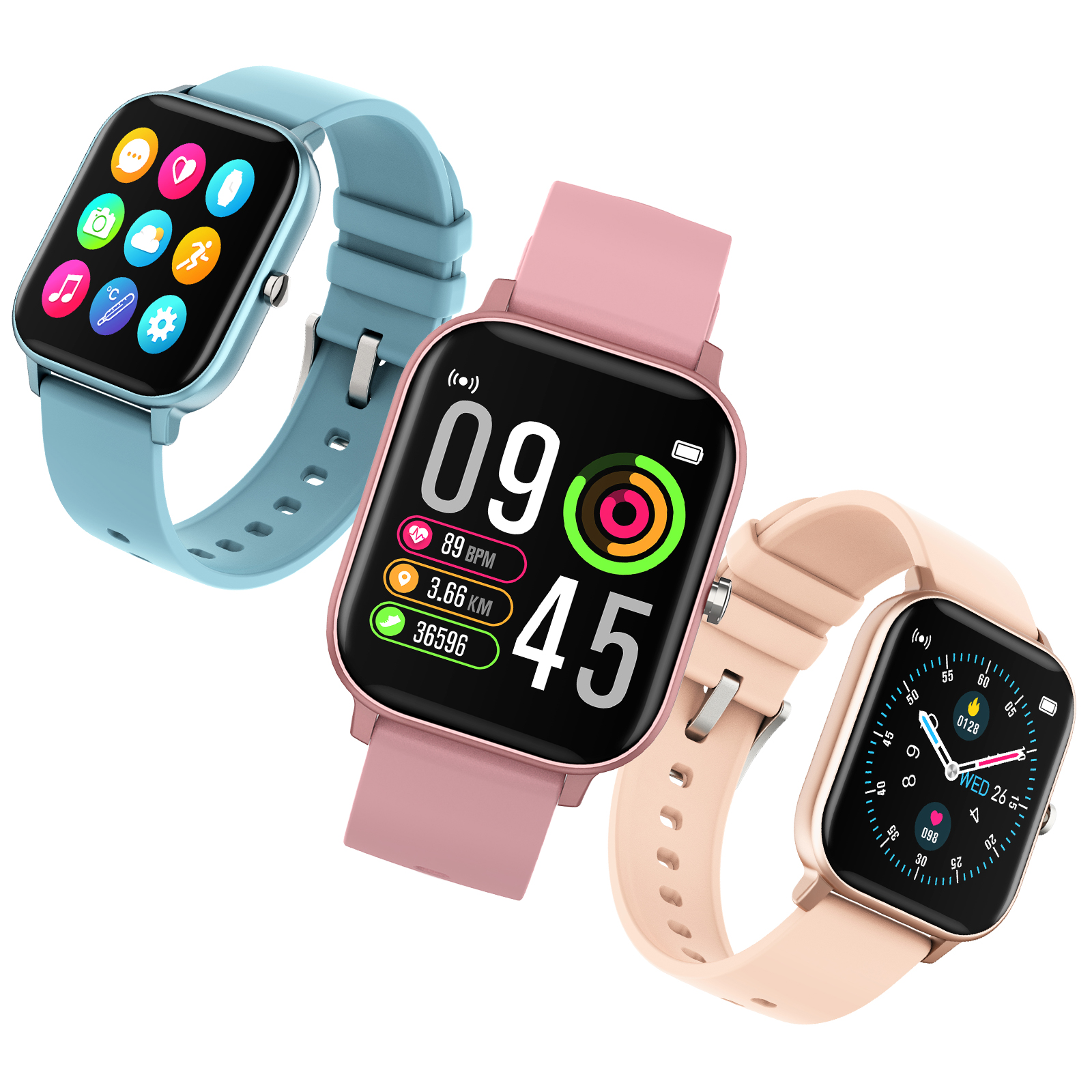 COLMI P8 Pro Smart Watch with Heart Rate Monitor 2