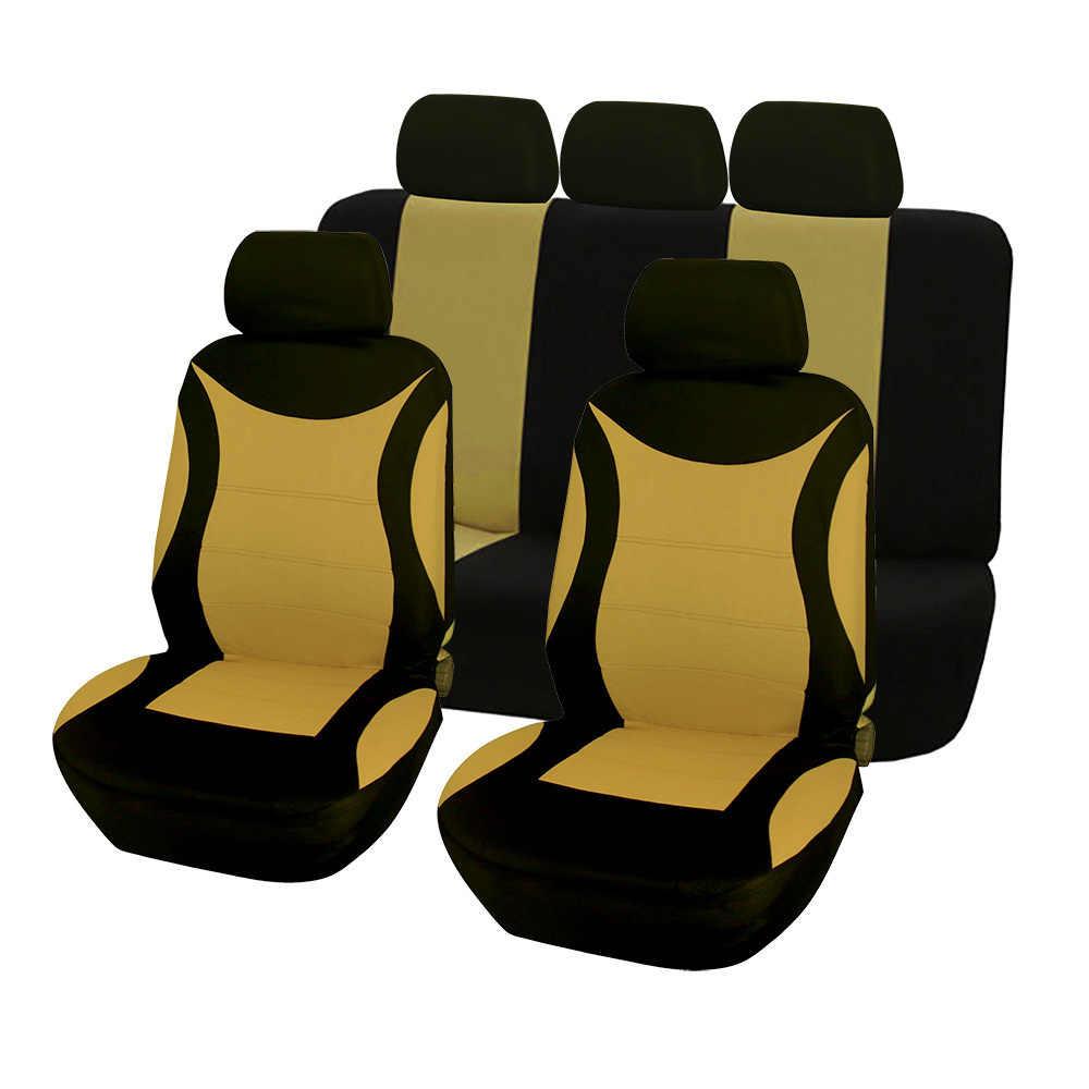 Kbkmcy Roze Auto Stoelhoezen Voor Vrouwen Mannen Auto Protector Cover Voor Peugeot 107 208 301 308 408 Rcz 508 2008 4008 3008
