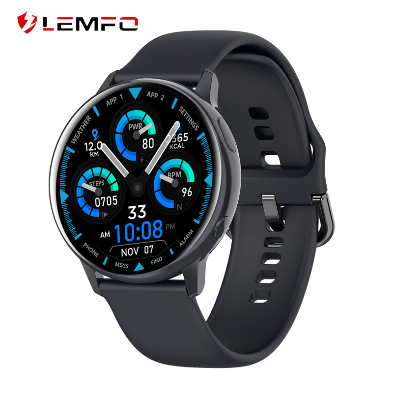 LEMFO SG2 ECG Smart Watch Men IP68 Waterproof Full Touch Healthy Fitness Tracker Blood pressure Oxygen Women Smartwatch 2020