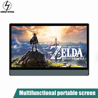 LHMZNIY 14.1inch Portable Monitor ultra slim IPS LCD display with HDMI Type C for Laptop PS4 Switch XBOX Samsung Note 10