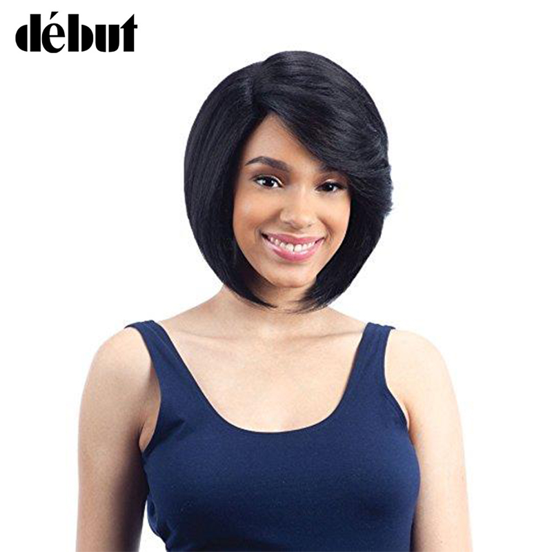 Debut Ombre Short Human Hair Wigs Remy Brazilian Bobo Wigs For Women Wigs Pixie Cut Cheap Wigs Black Fridays Christmas Gifts
