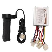 HOT-24V 500 Вт постоянного тока электрический велосипед с щеткой контроллер с длинной линией поворота руль для электрического велосипеда