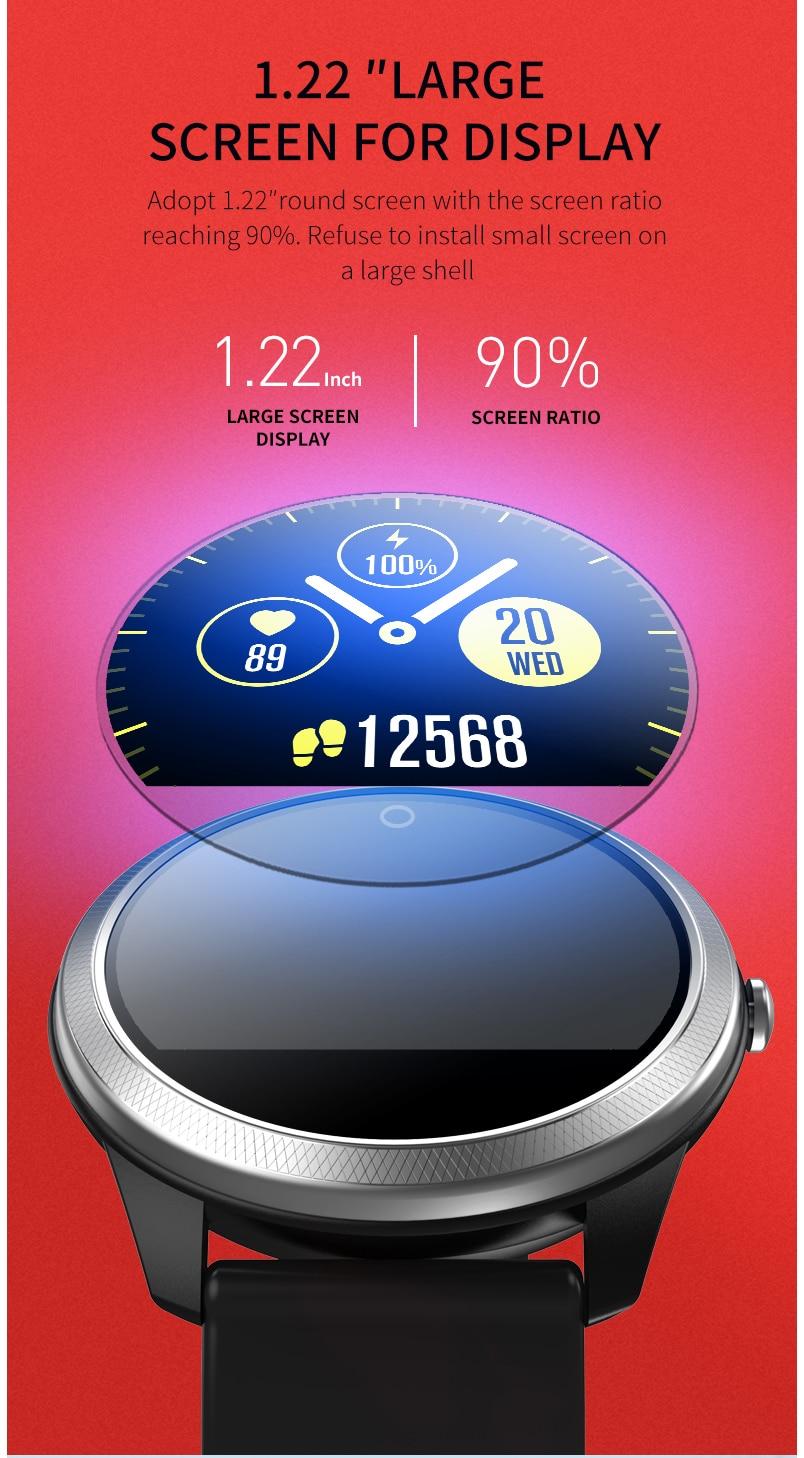 Smart watch sports waterproof F11 ECG + PPG Display