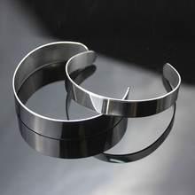 10 шт титановый пустой штамповочный браслет diy кожаные браслеты