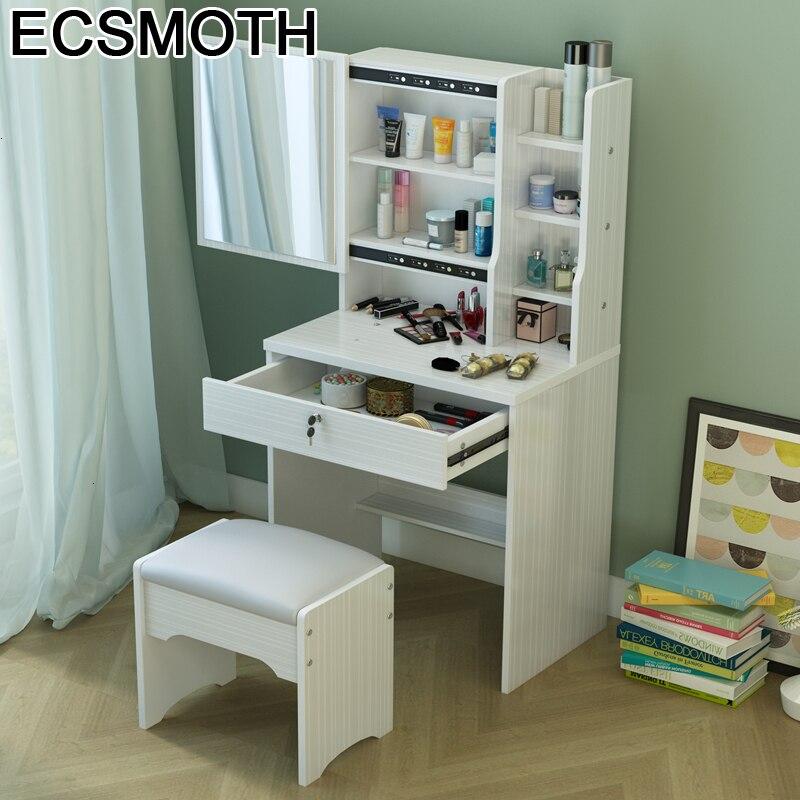 Box Vanity Table Schminktisch Cabinet Set Tocadore Para El Dormitorio Mesa Korean Penteadeira Bedroom Furniture Quarto Dresser