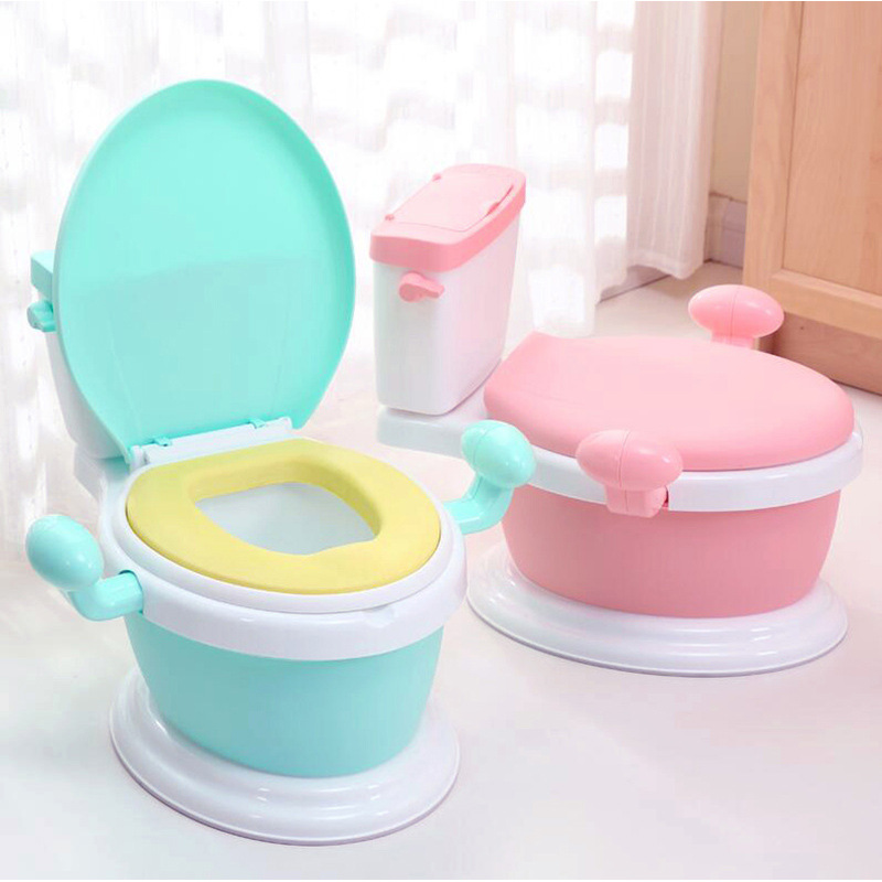 Extra-large No. Toilet For Kids Men And Women Baby Urinal Kids Chamber Pot Model Potty-Training Bowl Infants 1-3-6-Year-Old