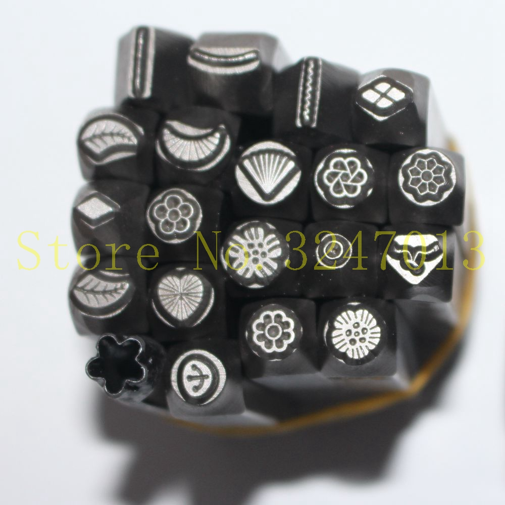 1PC Flower Stamps Metal Jewelry Making Metal Stamping Tools
