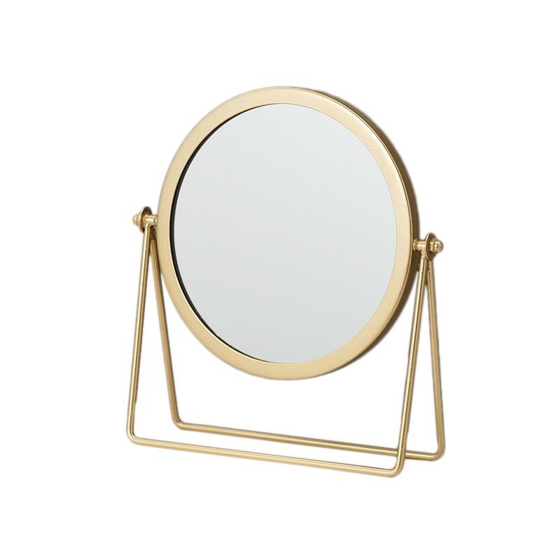 Espejo decorativo de Metal para mujer, espejo de maquillaje de escritorio, espejos retroiluminados con espejo de tocador de forma redonda de 360 ℃ Colgante de Ángel guardián de cristal H & D, abalorio de coche para espejo retrovisor, decoración colgante de jardín para el hogar, regalo (Chakra)