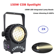 Mini LED 150W COB LEDS Stage Light Effect 6000K Spotlight Flashlight For Wedding Party Night Club Home Disco
