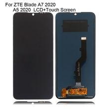 Оригинальный дисплей для zte blade a7 2020 ЖК кодирующий преобразователь