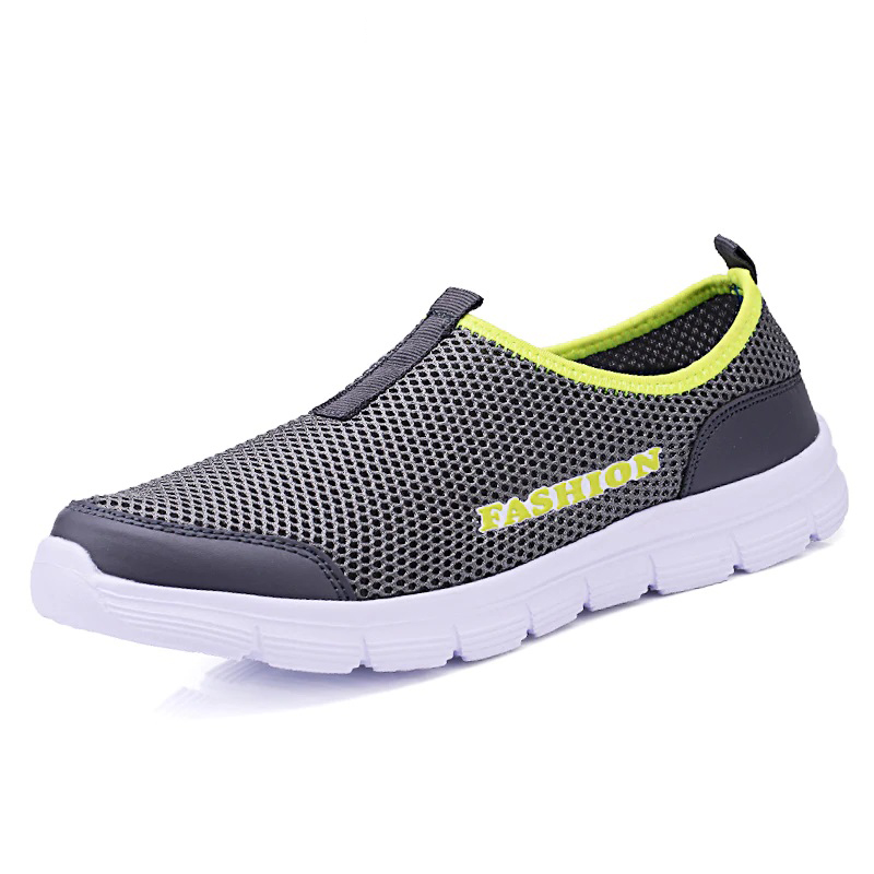 Couple New Men Sandals Air Mesh Women/men Casual Shoes Lightweight Breathable Water Slip-on Shoes Men Sneakers Sandalias Mujer