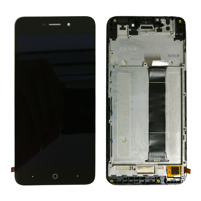 5.0'' Lcd For ZTE Blade A601 BA601 Touch Screen Digitizer + LCD Assembly For ZTE A601 Display 5 Inch Mobile Phone Free Shipping