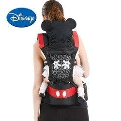 Многофункциональная переноска для младенцев с передним сидением disney, эргономичный слинг кенгуру для путешествий