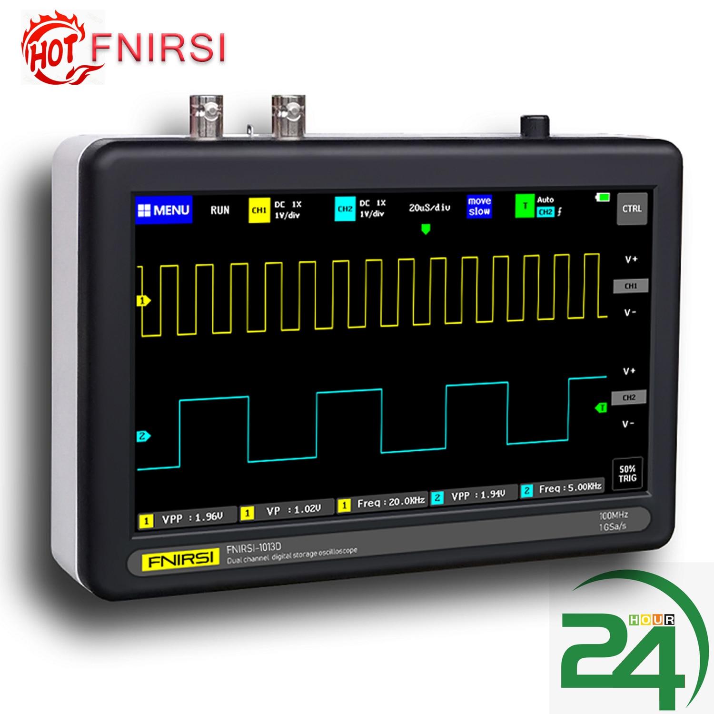 Digital Oscilloscope Touching-Screen ADS1013D 2-Channels 1gsa/S 100mhz Bandwidth