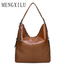 Retro Women Handbags PU Leather Female Crossbody Shoulder Bags High Quality Messenger Bags for Ladies Big Totes Large Capacity