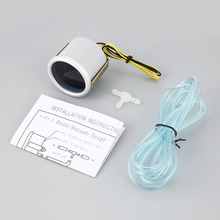 Электрические измерительные приборы 52 мм 2 дюйма гоночный манометр мульти D/A ЖК-цифровой дисплей Температура масла автомобильный измерительный прибор Автомобильный Универсальный
