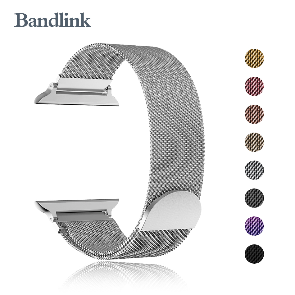 Band For Apple Watch Series 5/4/3/2/1 40mm 38mm Milanese Loop Bracelet Wrist Stainless Steel Watchband For Iwatch 4/5 44mm 42mm
