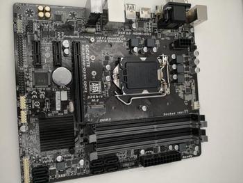 Original placa base para Gigabyte B150M-DS3H DDR3 32GB USB2.0 USB3.0 VGA DVI HDMI GA-B150M-DS3H DDR3 LGA 1151 se placa base de escritorio