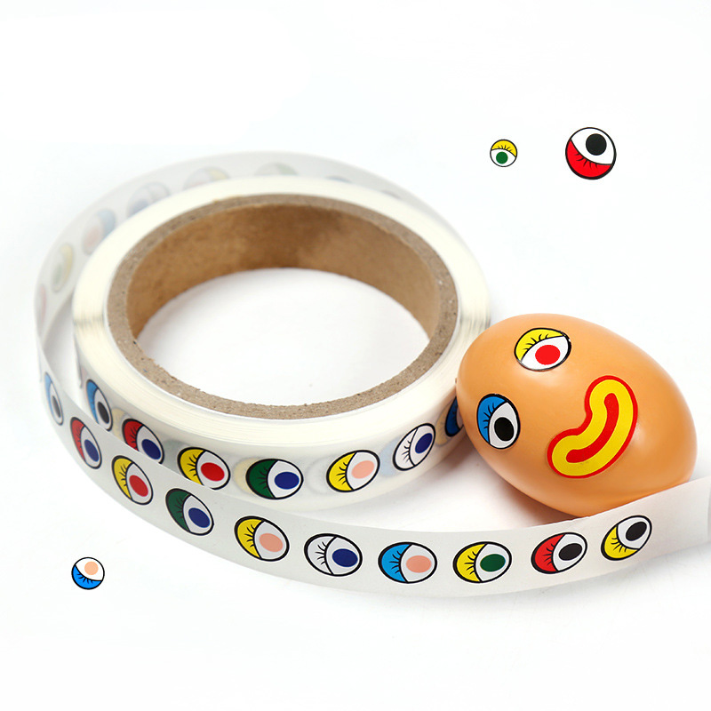 15mm Self-adhesive Eye Stickers DIY Craft Materials Card Making Stickers
