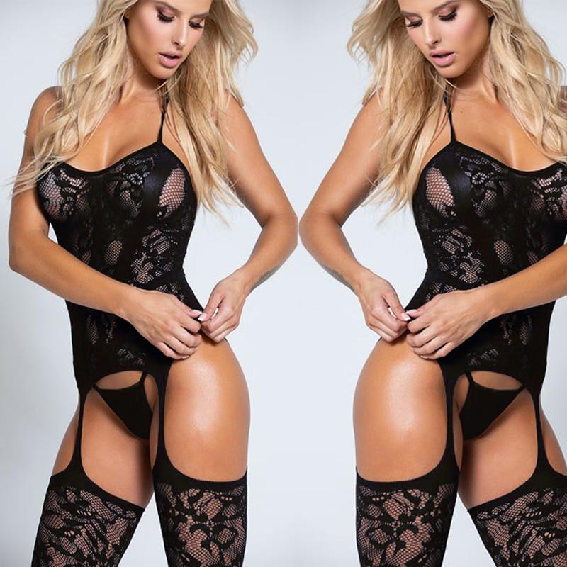 Lencería Porno sensual de talla grande, lencería erótica muñequita sin entrepierna, disfraces sexys, lencería erótica para Mujer QQ289