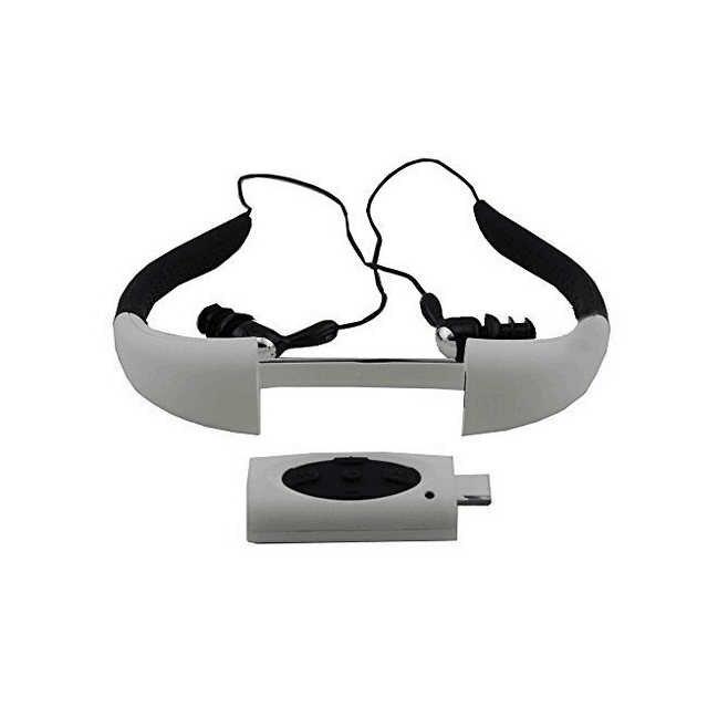 Горячая 8Gb Водонепроницаемый Плавание Серфинг, Ныряние Спортивная гарнитура MP3-плеер fm-радио
