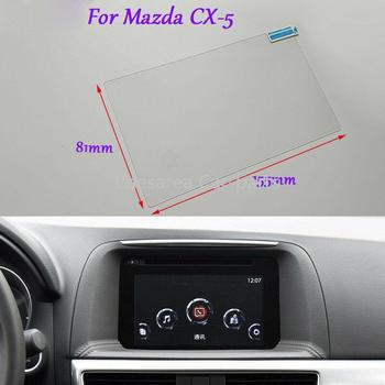 Internal Accessories Internal Accessories 7 inch Car GPS Navigation Screen HD Glass Protective Film For Mazda CX-5 image