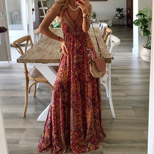 Летние платья, повседневное летнее платье размера плюс, vestido mujer verano 2020, robe boheme femme robe grande taille femme robe sexy