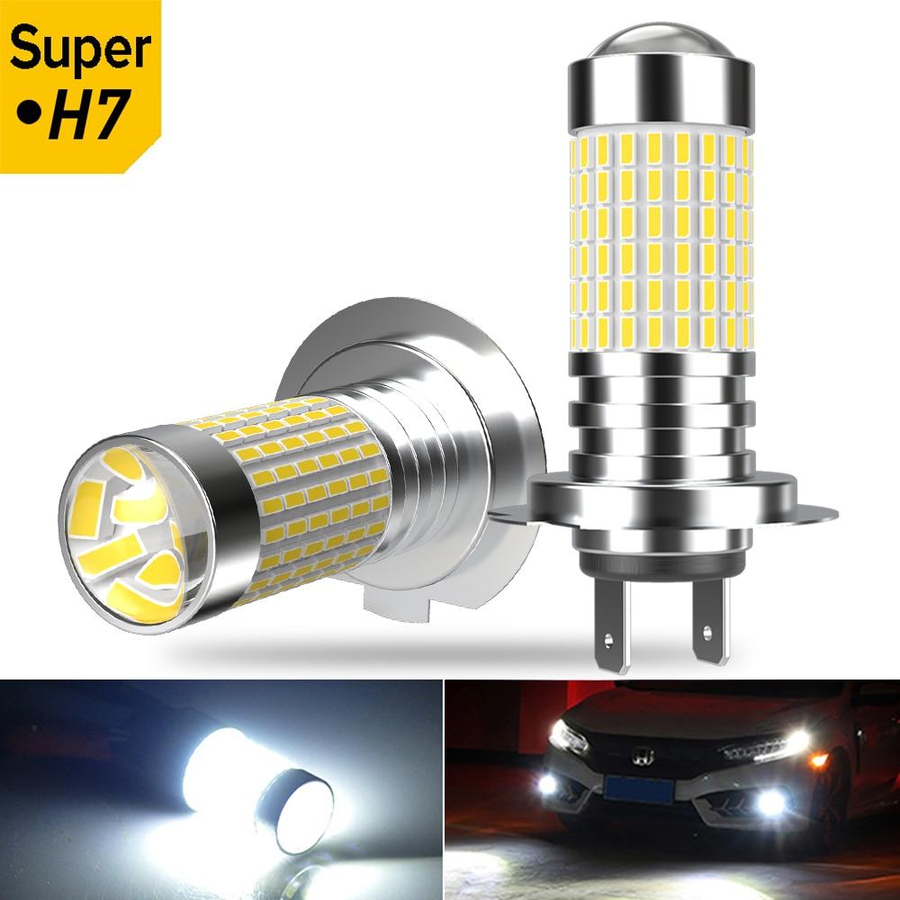 2 pièces H7 H11 PSX24W lampe 5202 voiture feu de brouillard LED pour Honda Accord civique Crv Lada Priora berline Sport Kalina Granta Vesta x-ray
