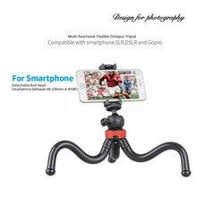 Grande polvo flexível tripé suporte gorillappod para telefone telefone móvel smartphone dslr e câmera mesa mini tripé