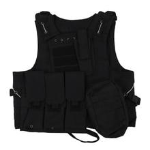 Жилет нейлон куртка черный молл Combat Airsoft Пейнтбол