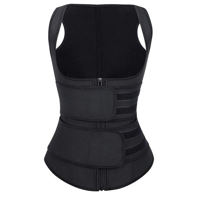 Waist Cincher with Waist Trainer Sweat Belt Band Corset Body Shaper Shapewear Fat  Sauna Slimming Belt Weight Loss 3
