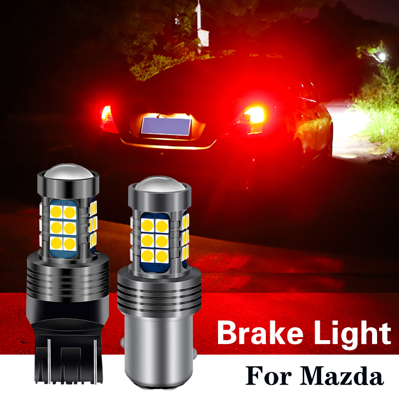 1pcs <font><b>LED</b></font> Brake Light Bulb BAY15D P21/5W P21W BA15S W21W W21/5W For <font><b>mazda</b></font> 2 5 3 6 gg gh CX-5 RX8 <font><b>cx7</b></font> 323 8 Axela Atenza MX5 cx9 image