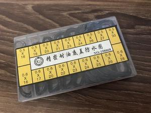 Ассортимент 0,5 мм и 0,6 мм чехол для задней крышки часов O Ring