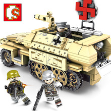 New Hot Empires Of Steel Armored vehicle Tank Weapon Building Blocks Sets Bricks Educational Toys for Children gift gamorrean guard ewok paploo tan battle of endor with weapon dewback jabba s rancor building blocks toys for children gift kf1057