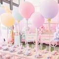 Ohoho 18/36 дюймовые большие пастельные воздушные шары Макарон Для крестин для девочек для будущей мамы конфеты матовый балон украшение на день ...