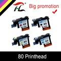 HTL C4820A C4821A C4822A C4823A Печатающая головка для HP80 Designjet 1000 1050c 1055 чернильный картридж печатающая головка для картриджа hp 80