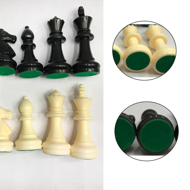 Set de pions d'échec - 32 pièces 6.4cm 4