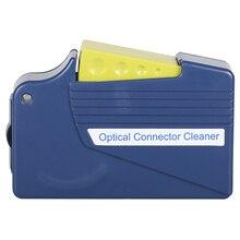 الألياف تنظيف الألياف نهاية الوجه صندوق تنظيف الألياف مسح أداة ضفيرة الأنظف كاسيت ، أدوات الألياف البصرية الأنظف Ftth ل SC ST/FC