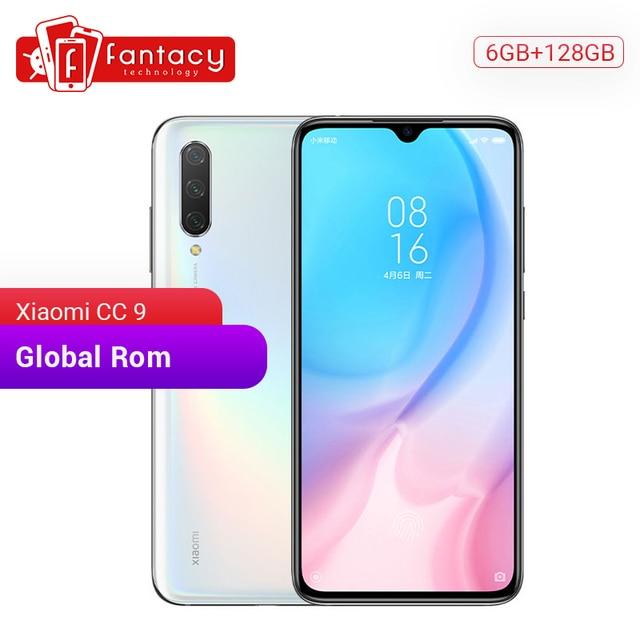 """Globale Rom Xiaomi CC 9 CC9 6 GB di RAM 128 GB di ROM Del Telefono Mobile Snapdragon 710 48MP Triple Macchina Fotografica 32MP anteriore Della Macchina Fotografica 6.39 """"Schermo Intero"""